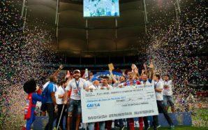 Bahia campeão Copa do Nordeste 2017