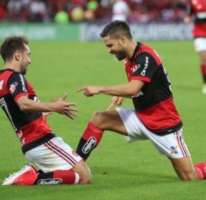 Diego e Everton Ribeiro jogarem juntos no Flamengo