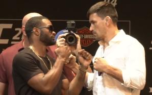 Demian Maia e Tyron Woodley se enfrentam pelo cinturão dos meio-médios no UFC 214 (Foto: Reprodução/Youtube oficial do UFC)