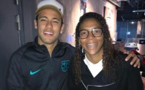 Fã de Neymar, Rafaela Silva diz que vai passar a ser torcedora do PSG (Foto: Reprodução/Instagram oficial de Neymar)