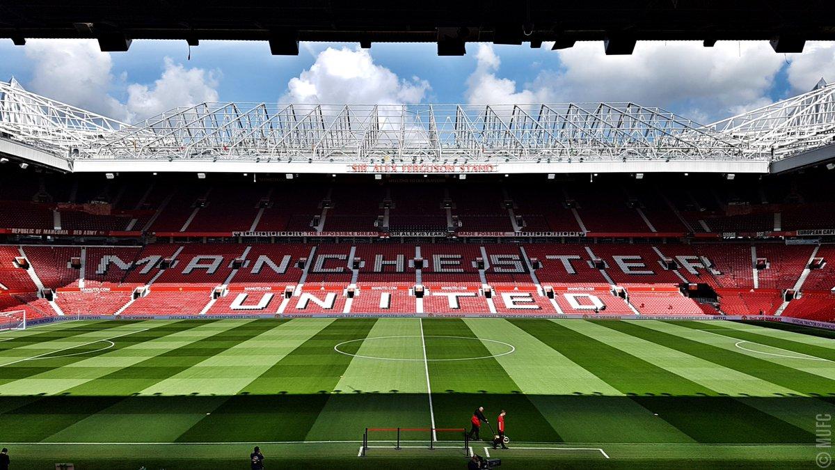 Manchester United encara o West Ham pela primeira rodada da Premier League (Foto: Reprodução/Twitter oficial do Manchester United)