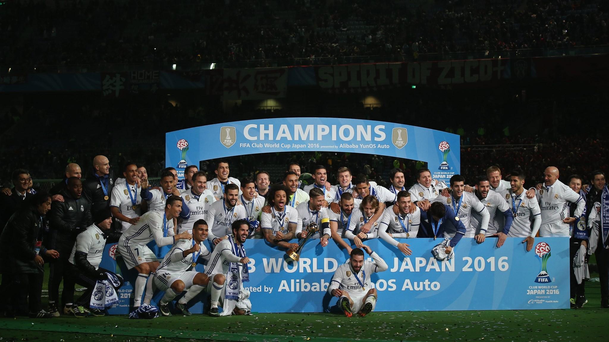 Real Madrid na conquista do Mundial de Clubes da FIFA de 2016