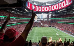 O estádio do Atlanta United, palco do recorde de público da MLS