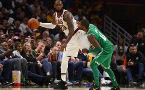 LeBron foi o destaque da partida de abertura da temporada 2017/2018 da NBA