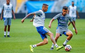 Treino do Grêmio Luan