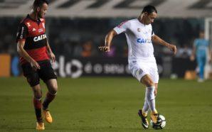 Santos tem oito jogadores pendurados no jogo contra Flamengo
