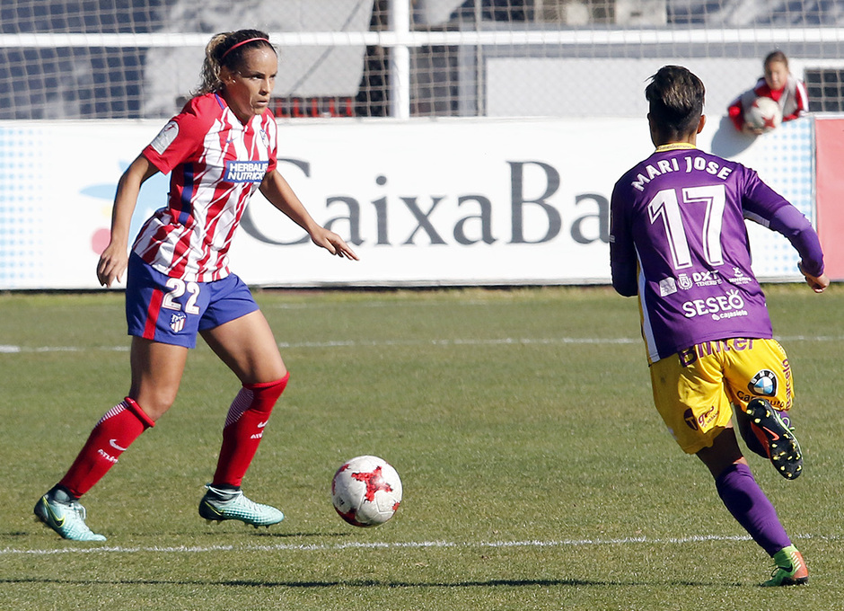 Monica Hickmann no Atlético de Madrid