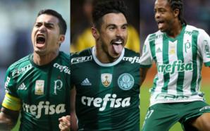 Dudu, Willian e Keno Palmeiras 2017