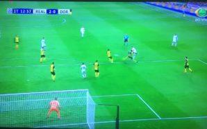 Gol Real Madrid x Dortmund