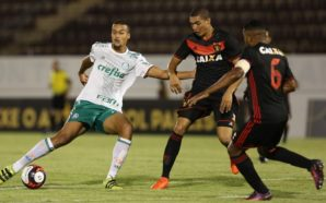 Em 2017, Palmeiras foi eliminado pelo Sport, na segunda fase (Foto: Divulgação/Palmeiras)