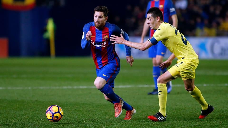 Barcelona vence Villarreal e volta a destacar-se na liderança
