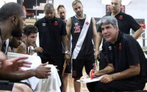 O time de basquete masculino do Vasco da Gama