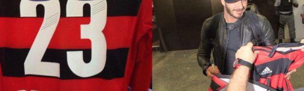 Beckham no Flamengo é uma das negociações mais surreais do futebol brasileiro