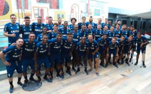 Elenco do Flamengo se reapresenta para 2018